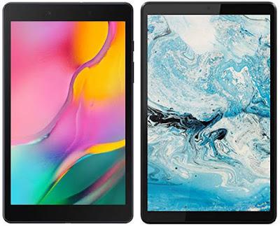 Samsung Galaxy Tab A (2019) vs Lenovo Tab M8 HD