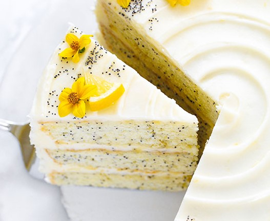 LEMON POPPYSEED CAKE RECIPES