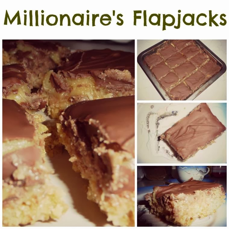 Millionaire's Flapjacks: Oats Take On The Shortbread