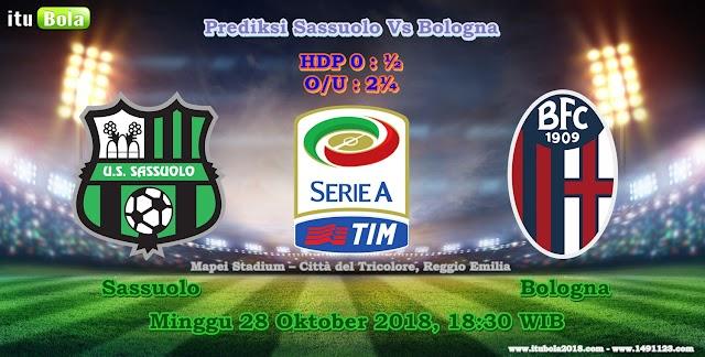 Prediksi Sassuolo Vs Bologna - ituBola