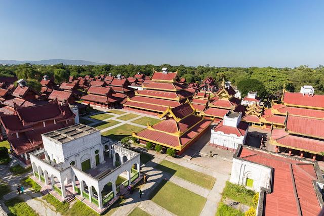 Palacio imperial de Mandalay, Myanmar