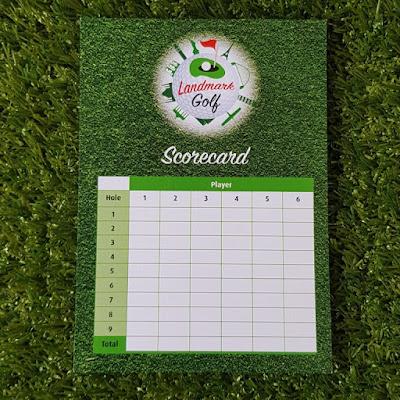 Landmark Golf scorecard