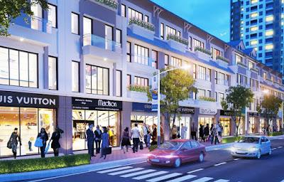 Trung tâm thương mại – dự án Hibrand Văn Phú Hà Đông