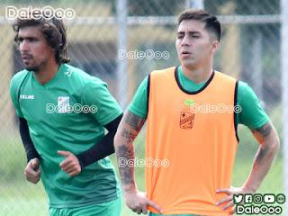 Juan Diego Gutiérrez y Jaime Carreño jugadores de Oriente Petrolero esperan tener minutos de juego ante Real Santa Cruz - DaleOoo
