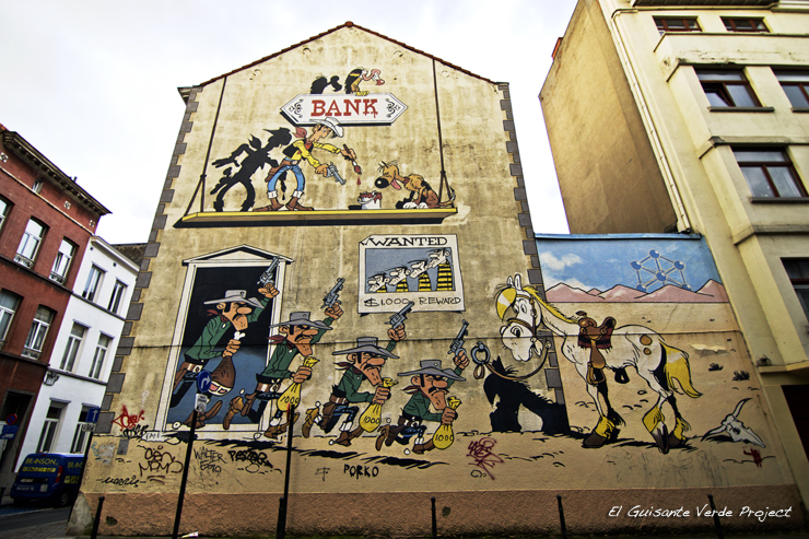Lucky Luke - Bruselas por El Guisante Verde Project