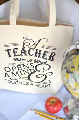 borsa in tela con decorazione personalizzata