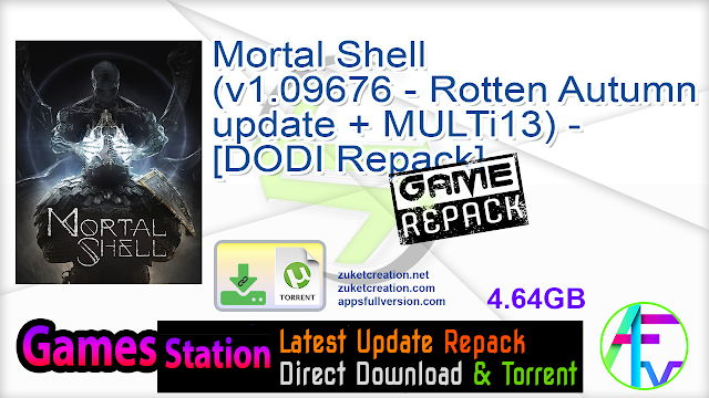Mortal Shell (v1.09676 – Rotten Autumn update + MULTi13) – [DODI Repack]