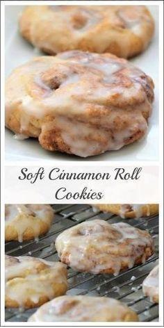 Monster Cinnamon Roll Cookies