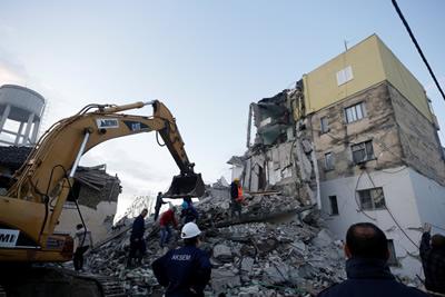 Albaniya Earthquake