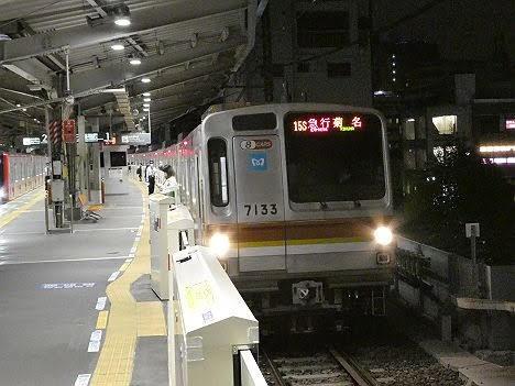 【深夜限定】メトロ車の急行 菊名行き