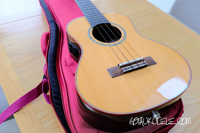 Flight Diana Soundwave Tenor Ukulele body