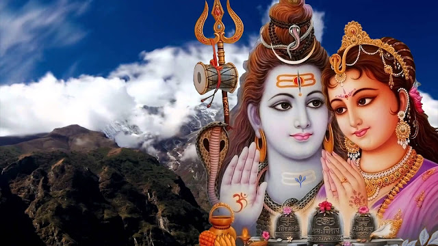 Best God Shiva & Parvati Full Size  Wallpaper For Desktop