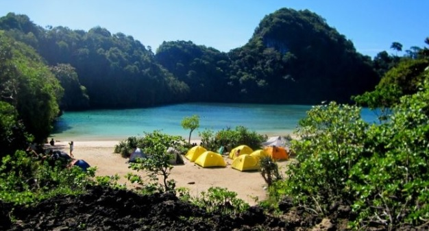 wisata pulau sempu malang
