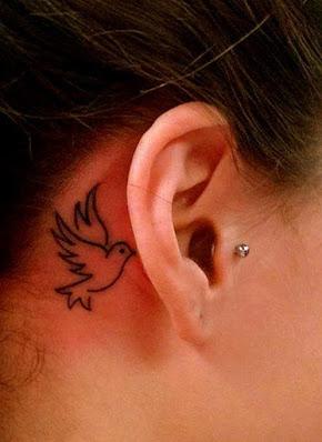 Dove Tattoo design for women