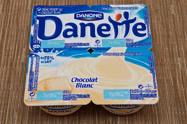 Danette Chocolat Blanc - Crème dessert - Danone