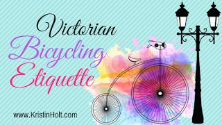 Kristin Holt | Victorian Bicycling Etiquette