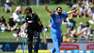 New Zealand vs India 1st ODI 2019 Highlights