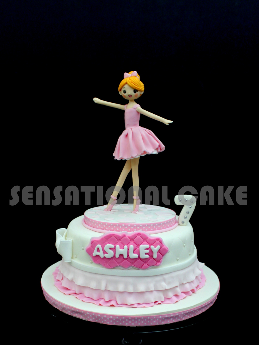 The Sensational Cakes Sweet Ballerina Cake Singapore