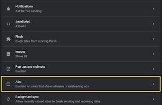 Cara Menghilangkan Iklan Banner di Google Chrome