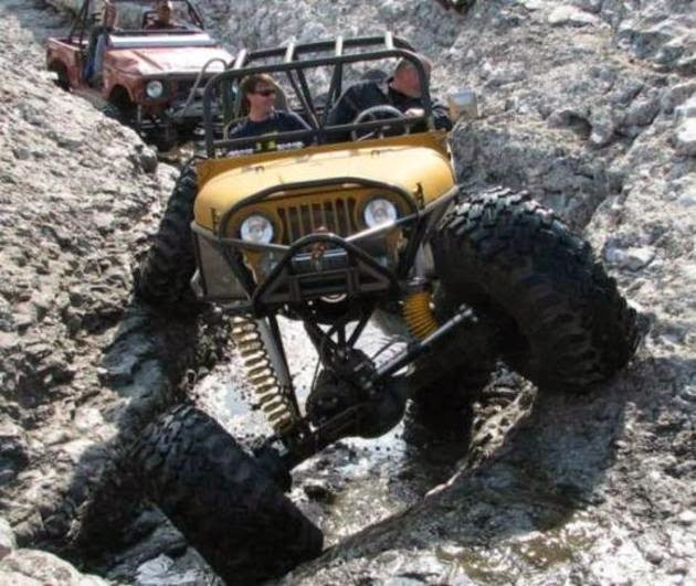 Rock crawler jeep