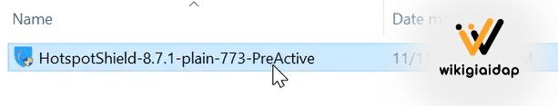 cách cài đặt Hotspot Shield 9.21.3