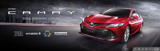 Spesifikasi Mesin Toyota All New Camry 2019