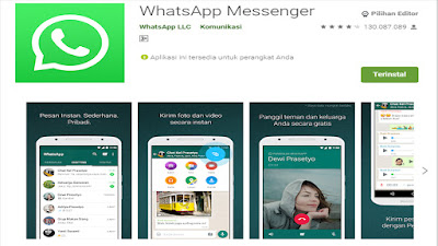 Tentang Aplikasi WhatsApp Messenger Anroid