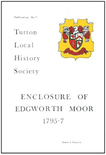 Turton Local History Society #7 - Enclosure of Edgworth Moor