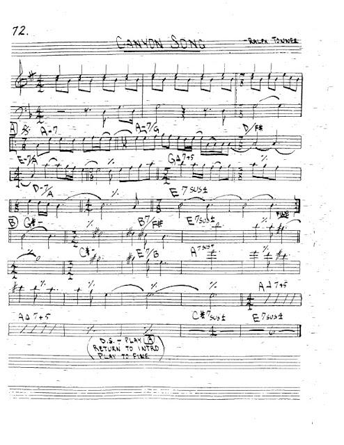 Partitura Trompeta Ralph Towner