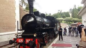 treno ville pontificie roma castel gandolfo
