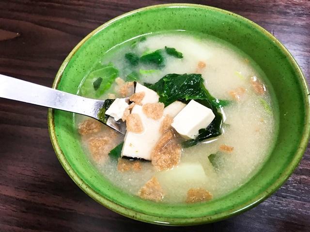 家家素食味噌湯