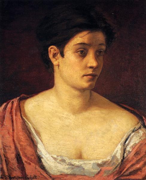 Mary Cassatt Портрет женщины