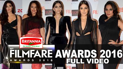 61st Flimfare Awards 15 January 2016 Watch full video