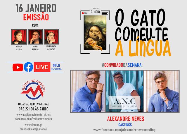 CONVIDADO DA SEMANA: ALEXANDRE NEVES