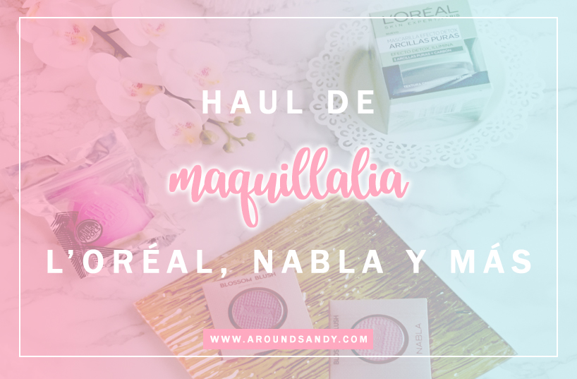 compras maquillalia loreal nabla the brush tools