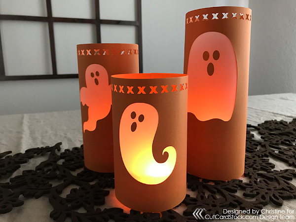 Halloween Paper Luminaries