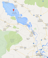 Jezioro Tonle Sap wKambodży