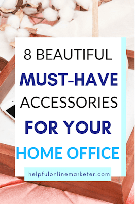 Does your home office need an update? I've rounded up a few affordable pretty accessories for your home office. These glam, affordable home office accessories from Amazon will help you to have the organized and stylish home office you've always wanted. Affordable Home Office Finds, Home Office Ideas, Home Office Decor.#furnituredesign #furnitureideas #affordablefurniture #homedecor #officedesk