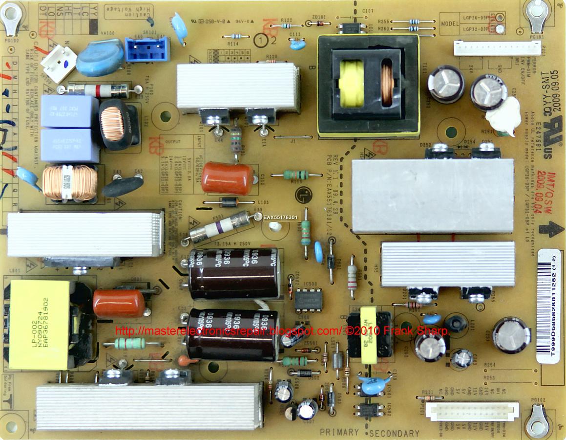 Master Electronics Repair Repair Servicing Tv Lg 32lh3010