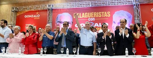 DIRECTORIO BALAGUERISTA PROCLAMA A GONZALO CASTILLO COMO SU CANDIDATO PRESIDENCIAL