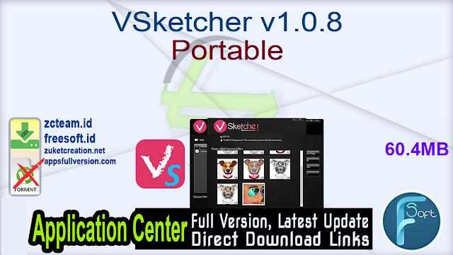 VSketcher v1.0.8 Portable _ZcTeam.id