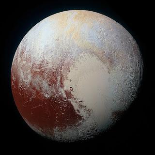 Pluto mountain