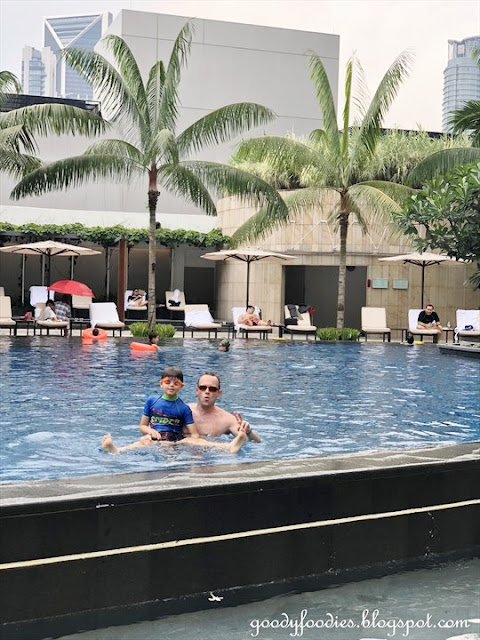 Grand Hyatt KL Pool