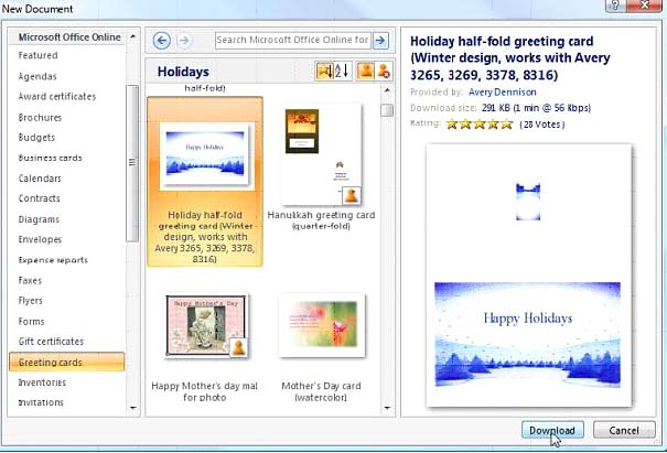 rse আসুন MS Word 2007 এ Greeting Cards তৈরী করি ( যারা না জানেন তাদের জন্য) | Techtunes আসুন MS Word 2007 এ Greeting Cards তৈরী করি