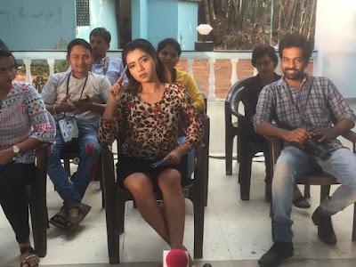 Rekha Mona Sarkar shooting pics