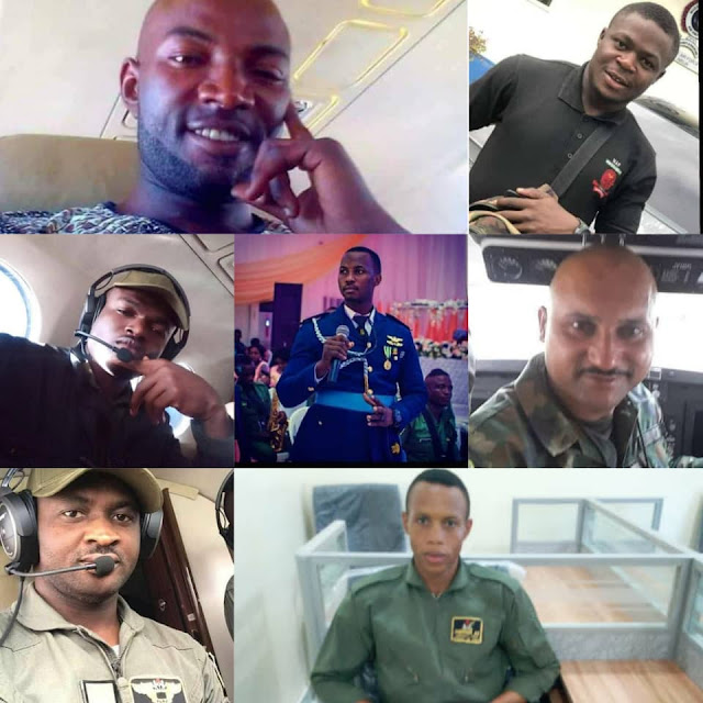Nigerian Air Force releases names of the victims that dies in the military plane crash