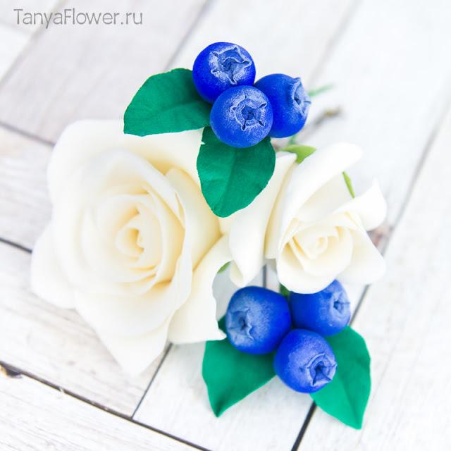 цветочные свадебные шпильки ручной работы