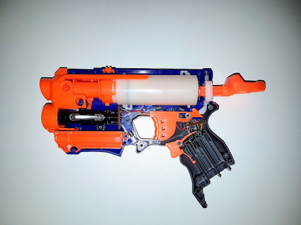 Old Nerf Fire Strike - Year of Clean Water