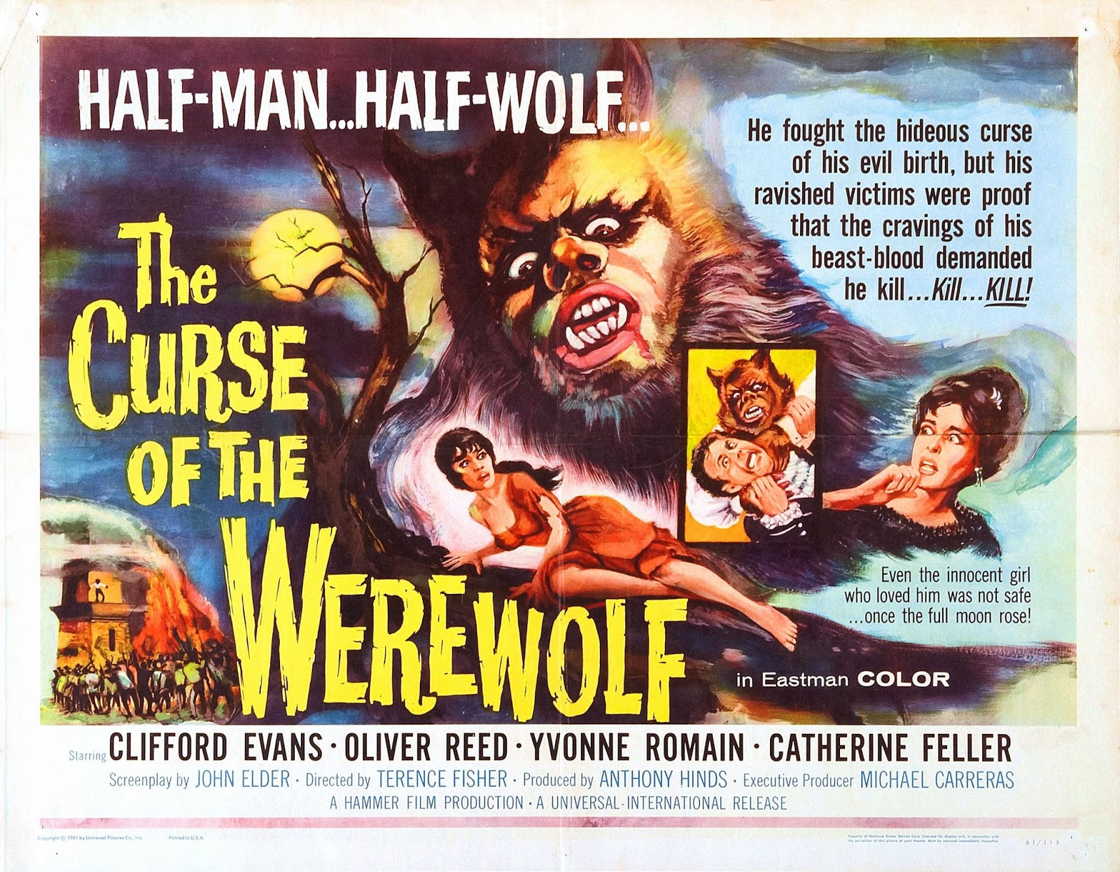 Film Trailers World 1961 Custom E Money Flazz Dan Brizzi Card Design Batman 1 The Curse Of Werewolf