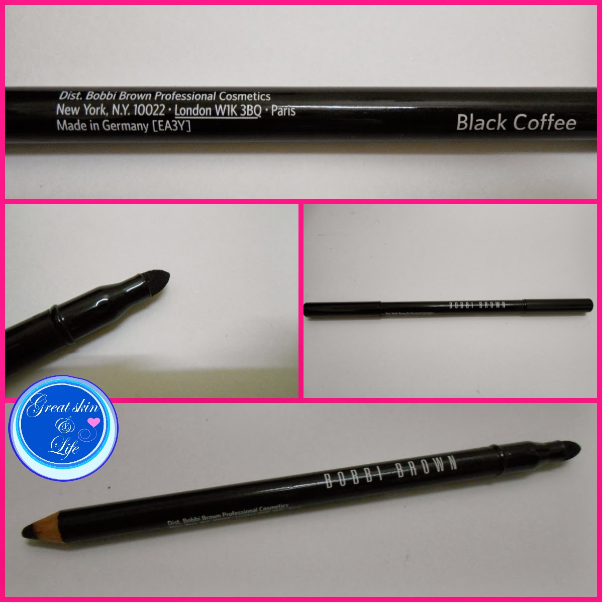 BOBBI BROWN BLACK COFFEE SMOKEY EYE KAJAL LINER